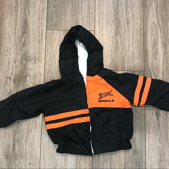 NFL Jackets & Coats | Vintage 90s Cincinnati Bengals Team Jacket